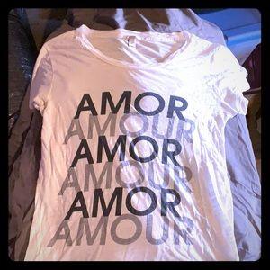 J Crew Amor T-shirt x-small